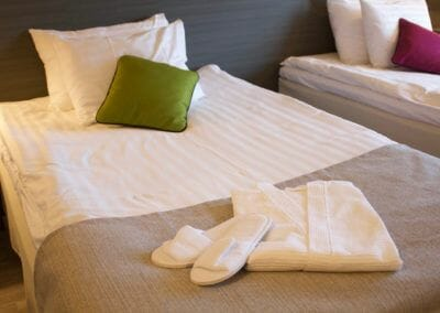 Hotel Kauppi Comfort Room - Slipper and Bathrobe